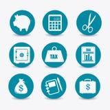 Taxes design. Stock Photos