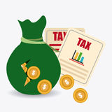 Taxes design. Stock Photography