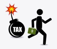 Taxes design. Royalty Free Stock Photo