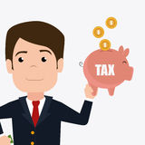 Taxes design. Stock Photography