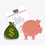 Taxes design. Royalty Free Stock Image
