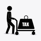 Taxes design. Royalty Free Stock Images