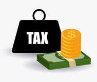 Taxes design. Royalty Free Stock Photography