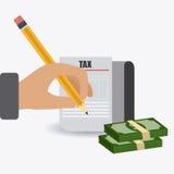 Taxes design. Royalty Free Stock Photos