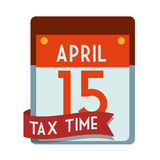 Taxes design, vector illustration. Stock Photo