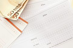 Taxes in the family Stock Images