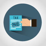 Taxes icon Stock Images