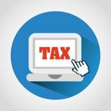 Taxes icon Royalty Free Stock Photo