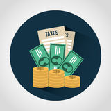Taxes icon Royalty Free Stock Images