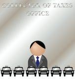 Taxes office Stock Photo