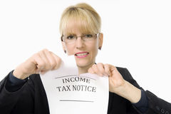 Taxes - oh no! Stock Photography