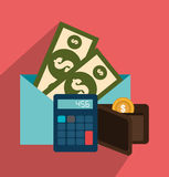 Taxes payment day stock illustration