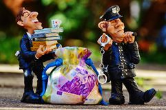 Taxes, Tax Evasion, Police Stock Photography