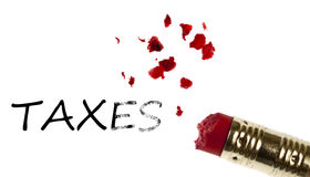Taxes word Royalty Free Stock Images