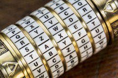 Taxes word as password Royalty Free Stock Photography
