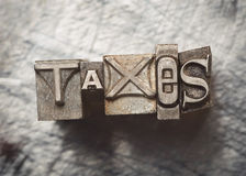 Taxes Stock Photo