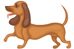 taxhund royaltyfri illustrationer