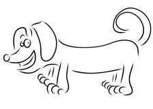 Taxhund Royaltyfri Bild