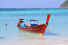 Taxi łódź lub długiego ogonu łódź Zdjęcia Royalty Free