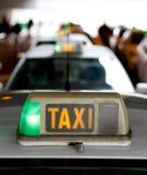 Taxi światło Zdjęcie Stock
