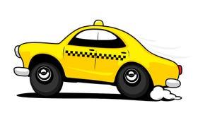 taxi illustration de vecteur