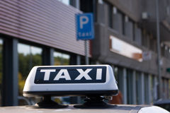Taxi Royalty Free Stock Photography