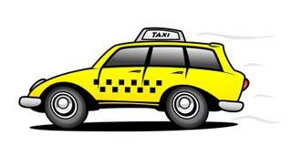 Taxi illustration libre de droits