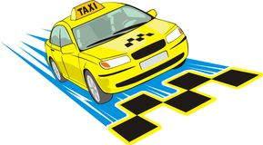 Taxi Photo stock