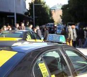 taxi Zdjęcie Stock