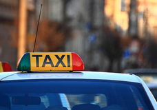taxi Fotografia Royalty Free
