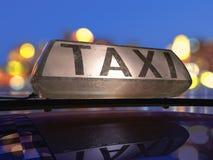 Taxi Fotografie Stock Libere da Diritti