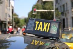 Taxi Imagen de archivo