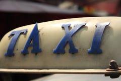 Taxi Fotografía de archivo libre de regalías