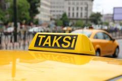 Taxi Stock Fotografie