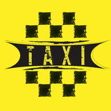 taxi Obrazy Royalty Free