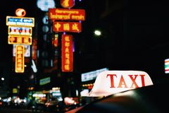 Taxi Images stock