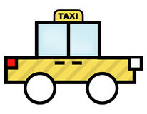 Taxi. Illustration for Taxi Car Stock Illustration