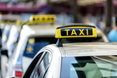 Taxi photo stock