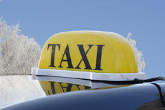 taxi Photographie stock