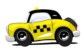 Taxi. The old coupe taxi car Royalty Free Stock Photos