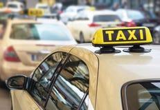 Taxi fotos de archivo libres de regalías