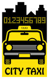 Taxi abstract Royalty Free Stock Images