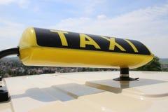 Taxi alemán Fotografía de archivo libre de regalías