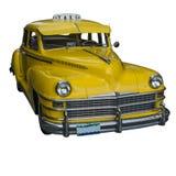 Taxi amarillo fotografía de archivo libre de regalías