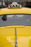 Taxi amarillo de Nueva York Imagen de archivo libre de regalías