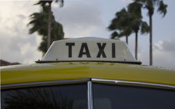 Taxi antiquato Immagine Stock