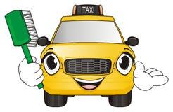 Taxi avec impétueux illustration libre de droits