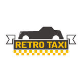 Taxi badge vector illustration. Stock Photography
