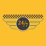 Taxi badge vector illustration. Stock Photos