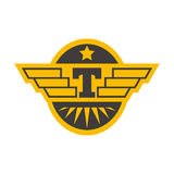 Taxi badge vector illustration. Royalty Free Stock Photos